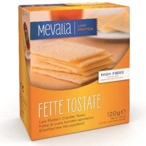 Низькобілкові хрусткі хлібці Мевалія Фетте Тостате (Mevalia Fette Tostate)