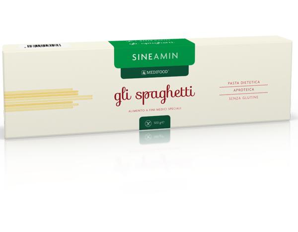Низькобілкові макарони СІНЕАМІН спагеті