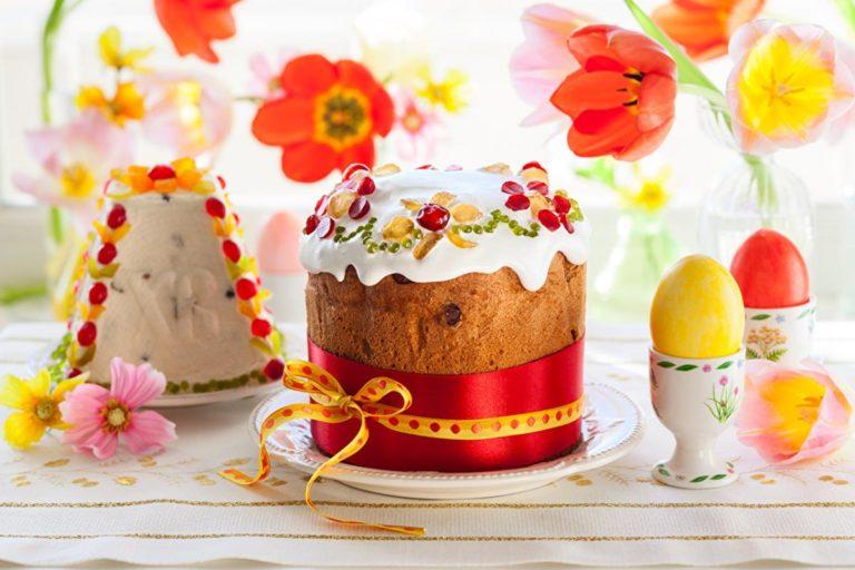 пасхальный кулич | Великодній куліч | Easter cake