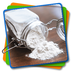 Flour and mixtures for baking